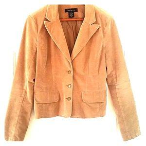 Calvin Klein Jeans Corduroy Blazer/Jacket - Tan